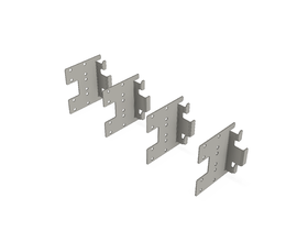 f31 UNIVERSAL CONNECTOR GALVA [SET OF 4PCS]