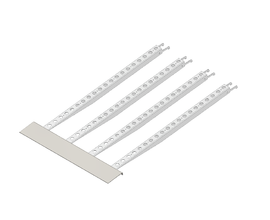 RAMP [0992 X 0992MM] FLOORING SYSTEM FOR 62/55MM FRAMES