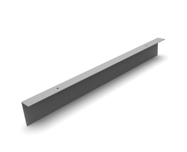 L PLINTH PROFILE [0744MM] RAL