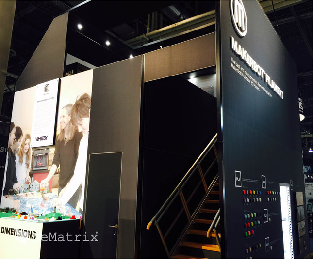 Evo Exhibits - Makerbot 2015 - Foto 7