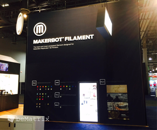 Evo Exhibits - Makerbot 2015 - Foto 4