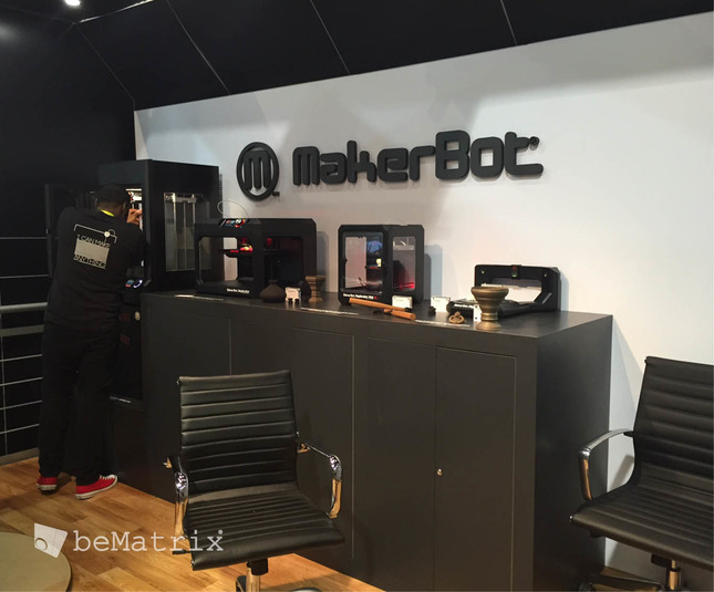Evo Exhibits - Makerbot 2015 - Foto 8
