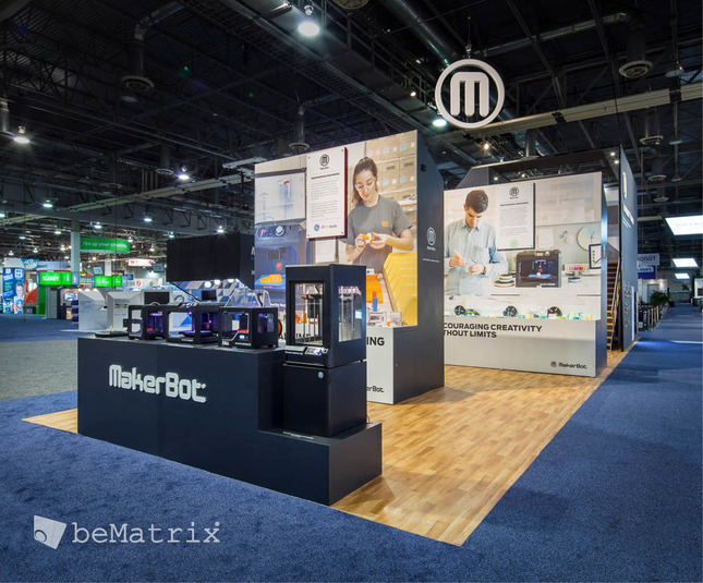 Evo Exhibits - Makerbot 2015 - Foto 0