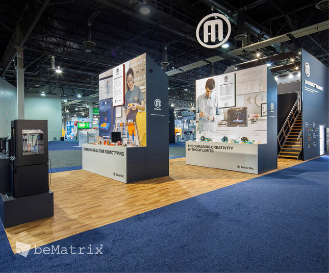 Evo Exhibits - Makerbot 2015 - Foto 1