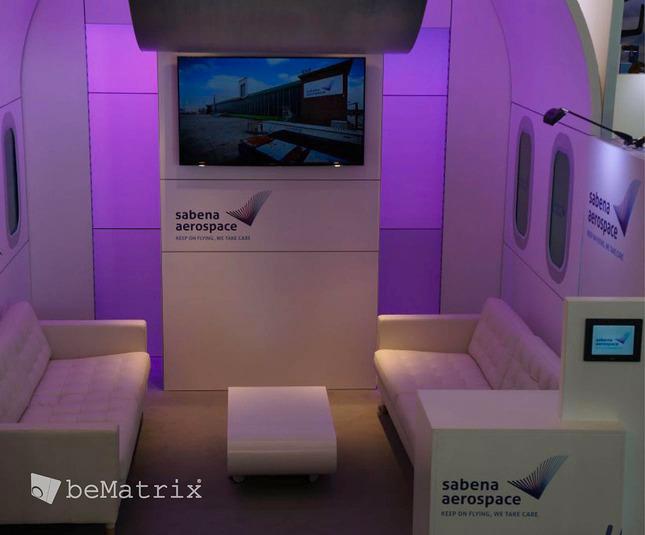 Optimum Concept - Sabena Aerospace 2015 - Foto 2